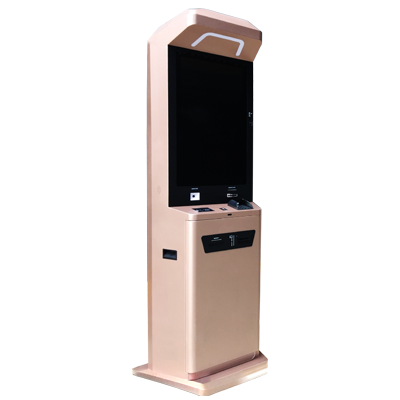 Cash Acceptor & Card Dispenser Kiosk